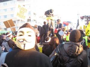 Demonstration and Candlelight Vigil in Copenhagen
