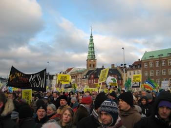 Climate Change Demonstrations in Copenhagen
