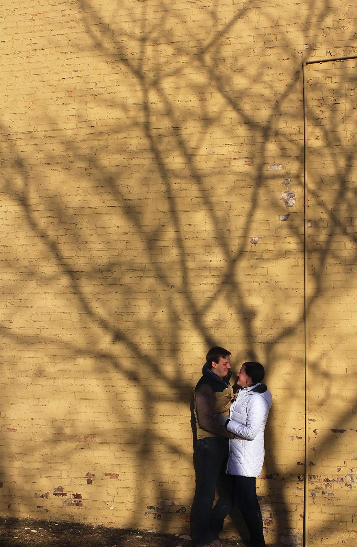 winter engagement photo session lucas luke evans katie Kski aubrey ann parker photography betsie bay furniture frankfort benzie county michigan