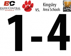 Benzie Girls Soccer: Wednesday, April 15, vs. Kingsley (1-4 Loss)