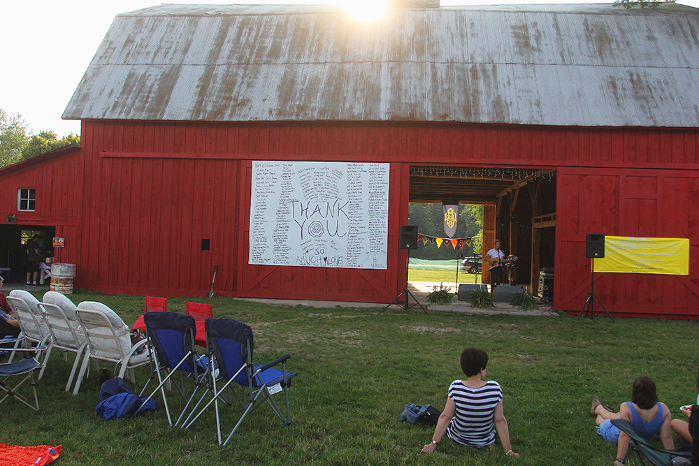 Olivia Buzzell Liv Buzzell outdoor concert barn concert St. Ambrose Cellars Isaac Julian Legacy Foundation. Benefit Concert Benzie County Frankfort-Elberta High School teen suicide prevention