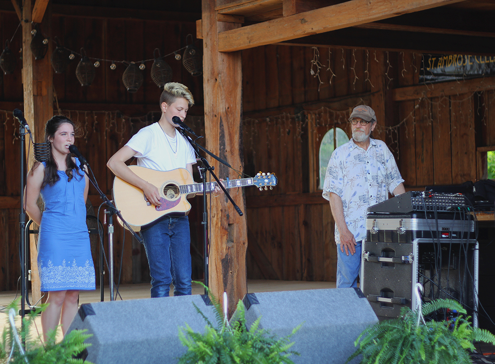 Bailey Barnes Bailey Vigland Barnes Shine On Daisy May Erlewine Bernard Olivia Buzzell Liv Buzzell. outdoor concert barn concert St. Ambrose Cellars Isaac Julian Legacy Foundation Benefit Concert Benzie County Frankfort-Elberta High School teen suicide prevention