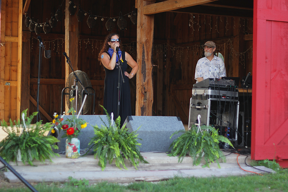 Christina Ryan-Stoltz St. Ambrose Cellars barn Isaac Julian Legacy Foundation Benefit Concert Benzie County Frankfort-Elberta. High School teen suicide prevention
