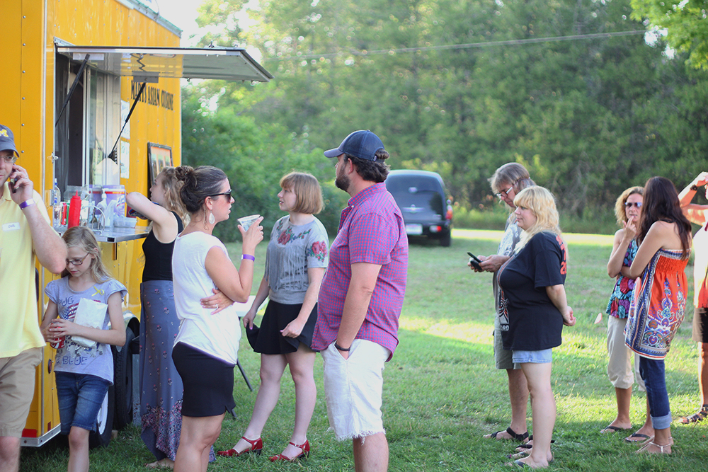 Food Truck Mary's Asian Cuisine Beulah summer St. Ambrose Cellars Isaac Julian Legacy Foundation Benefit. Concert Benzie County Frankfort-Elberta High School teen suicide prevention