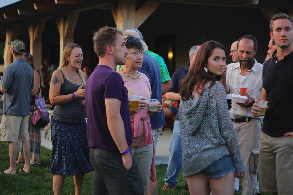 Thomas Hirsch community summer event outdoor concert barn concert St. Ambrose Cellars Isaac Julian Legacy. Foundation Benefit Concert Benzie County Frankfort-Elberta High School teen suicide prevention