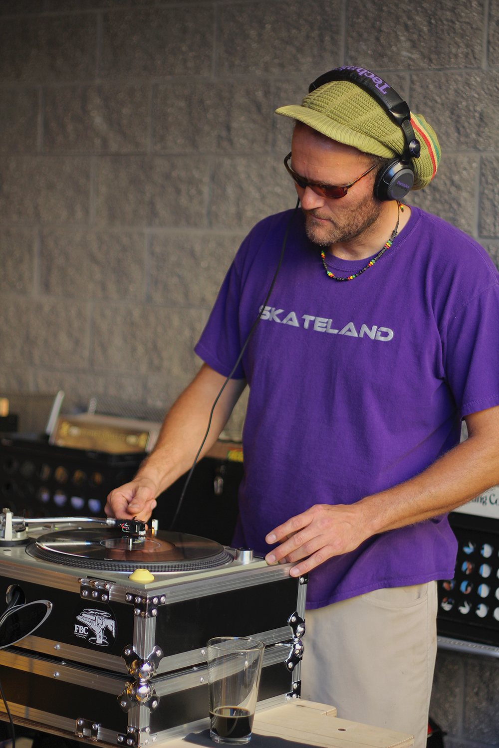 Otto Bengsch DJ Disc Jockey Stormcloud Brewing Company Stormcloud Brewery Frankfort Michigan
