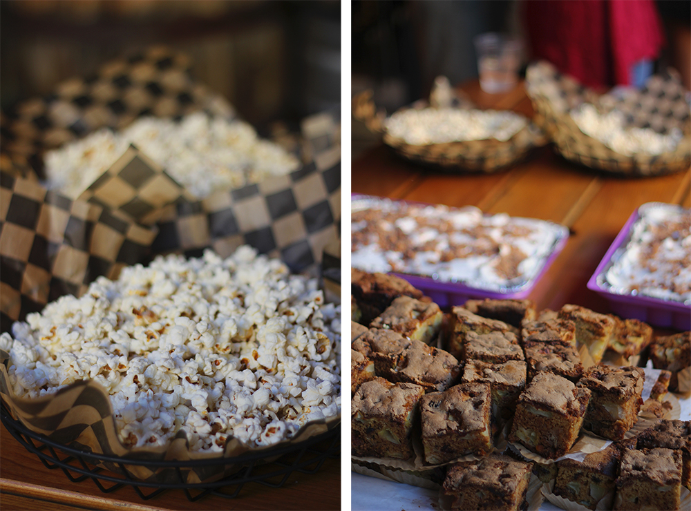 brownies dessert Suz McLaughlin Still Grinning Kitchen catering specialty popcorn Stormcloud Brewing Company Stormcloud Brewery Frankfort Michigan