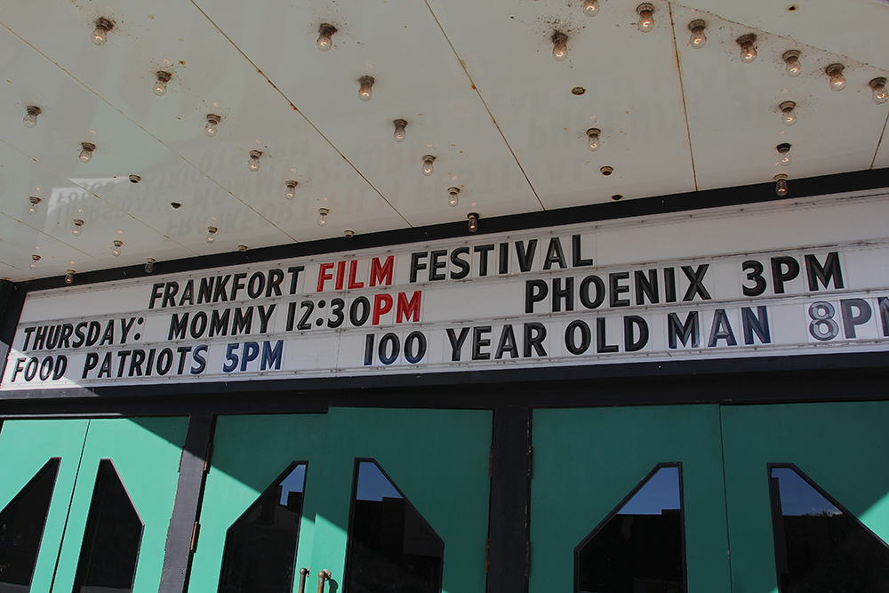 Mommy Phoenix Food Patriots 100 Year Old Man Movie Frankfort Film Festival 2015 The Garden Theater F3 Frankfort Michigan
