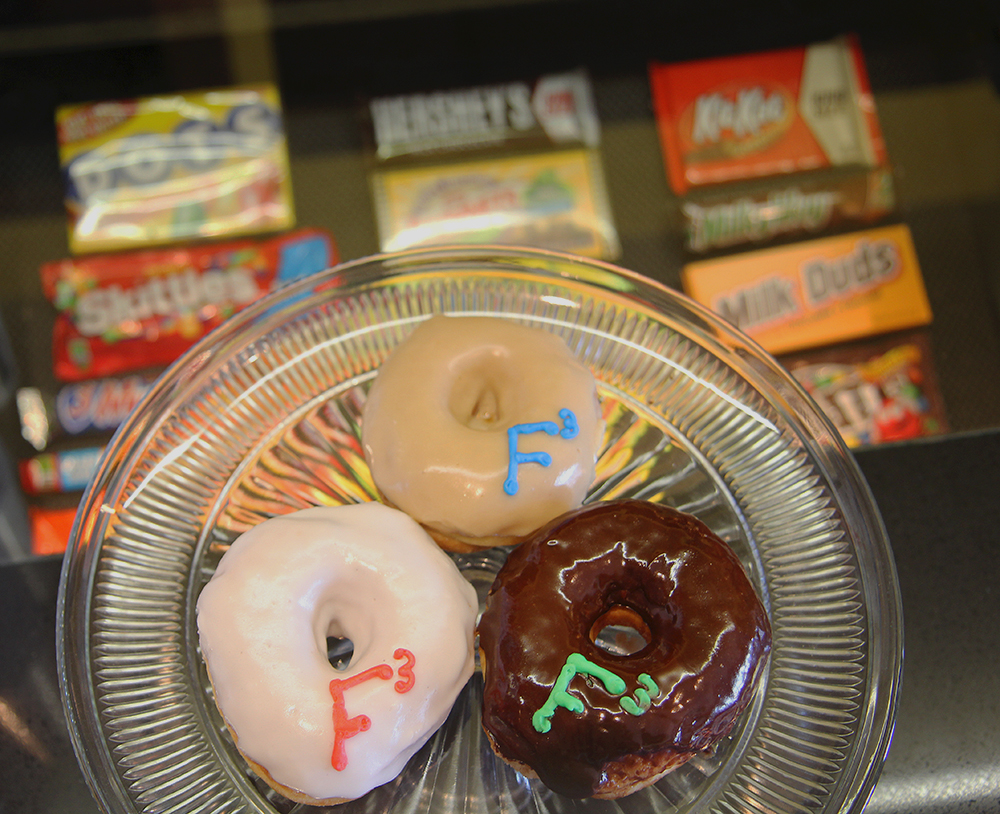 Crescent Baker Donuts customized donuts Frankfort Film Festival 2015 The Garden Theater F3 Frankfort Michigan