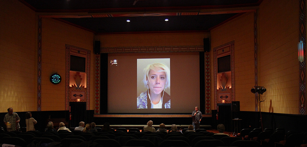 Mo Scarpelli Rake Films Q&A with filmmaker Frame by Frame Afghanistan photojournalist Frankfort Film Festival 2015 The Garden Theater F3 Frankfort Michigan