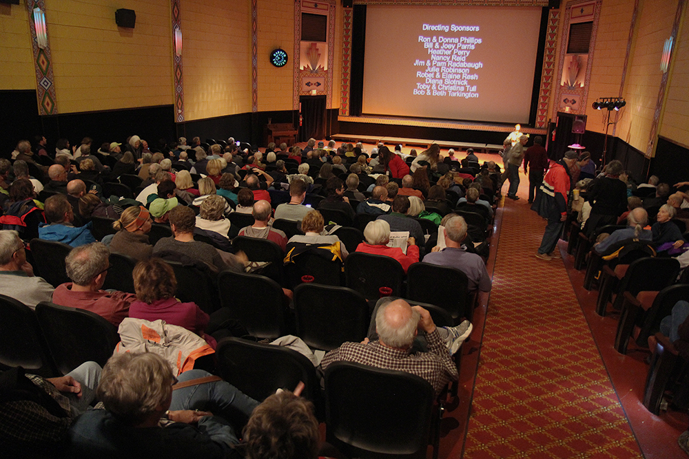 audience 7th annual Frankfort Film Festival 2015 The Garden Theater F3 Frankfort Michigan