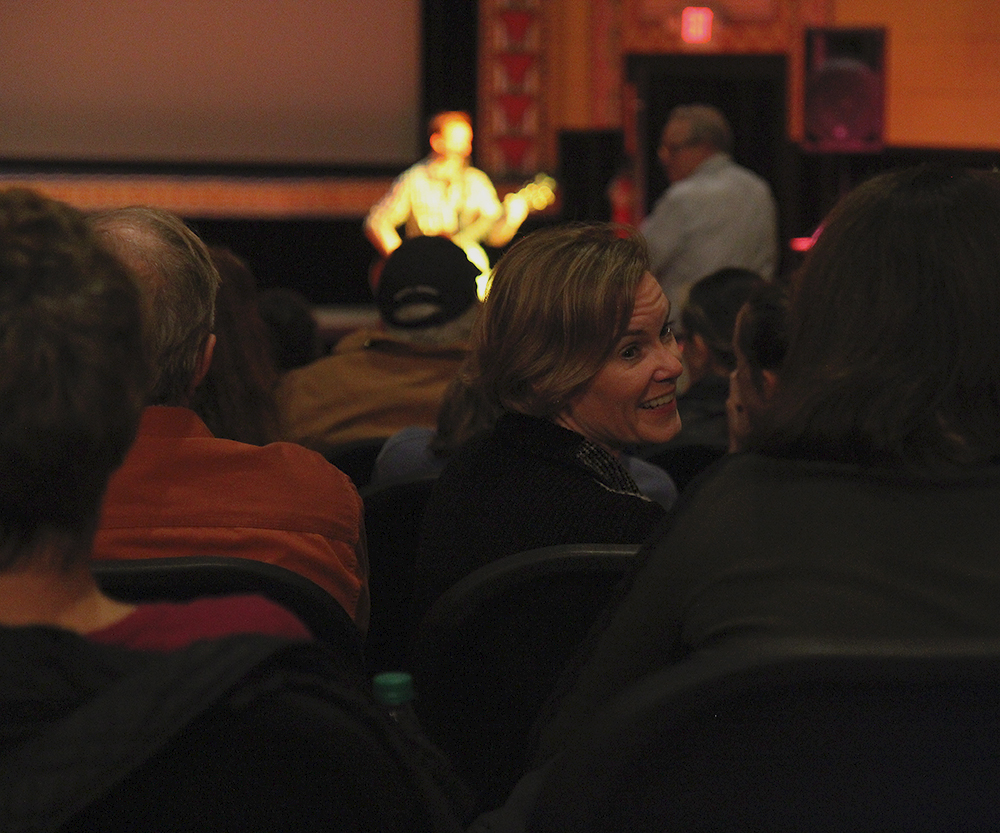 audience Frankfort Film Festival 2015 The Garden Theater F3 Frankfort Michigan