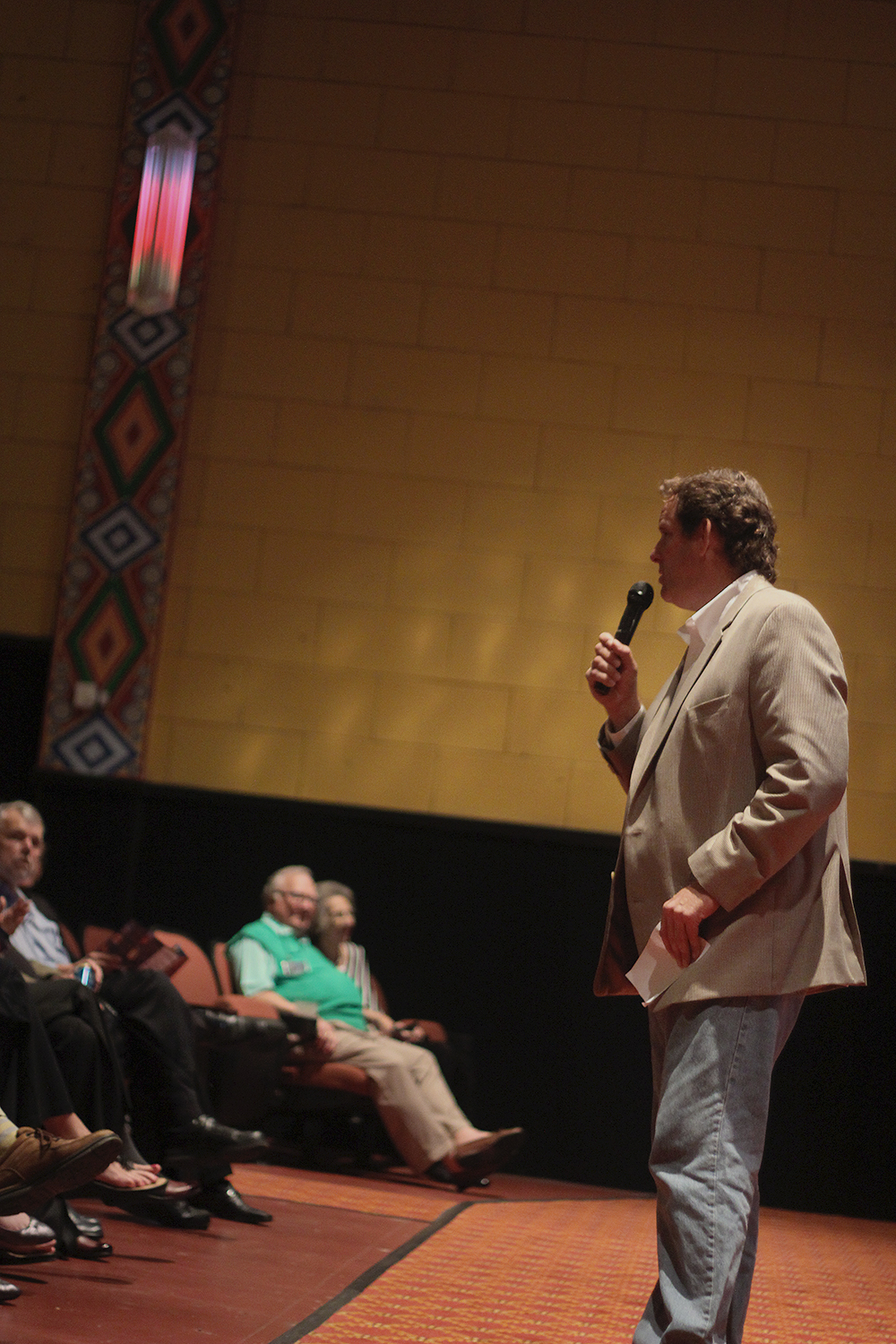 Rick Schmitt Frankfort Film Festival 2015 The Garden Theater F3 Frankfort Michigan