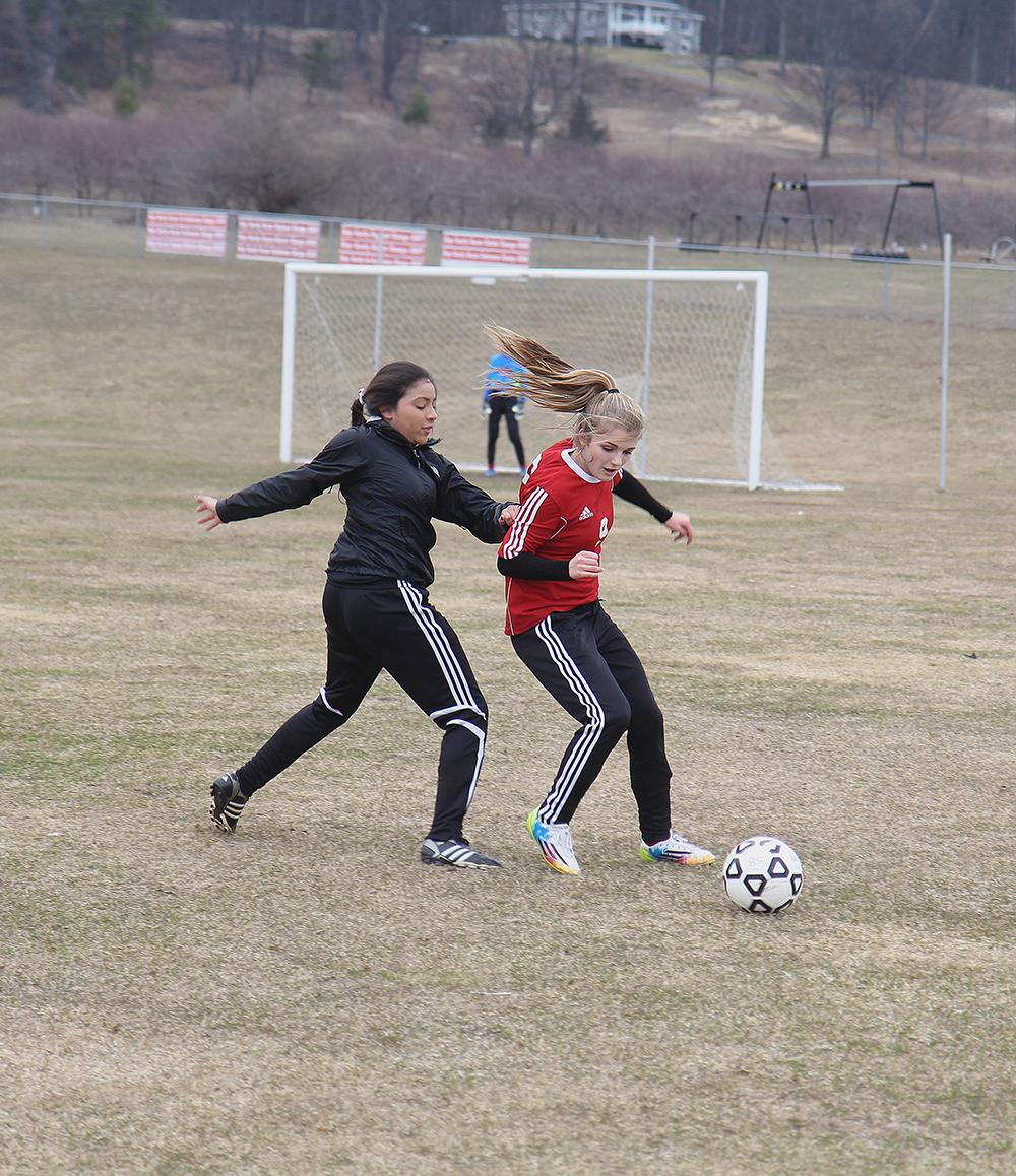 Allana Bostick Benzie girls soccer Benzie Central girls varsity soccer Suttons Bay soccer Suttons Bay lady norsemen