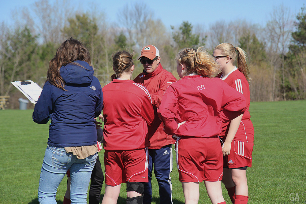 Aubrey Ann Parker Scott Kubit Haley Papineau Fenja Firnhaber Hanna Burch Benzie girls soccer Benzie Central girls varsity soccer Benzie Central Huskies
