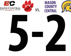 Benzie Girls Soccer: Friday, April 22, at Mason County Central (5-2 Win)