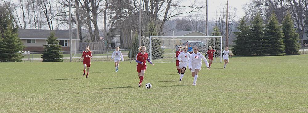 Hanna Burch Jenna Saier Allana Bostick Benzie Girls Soccer Benzie Central Girls Soccer Benzie Central girls varsity soccer Suttons Bay soccer Suttons Bay girls soccer Suttons Bay Norsemen
