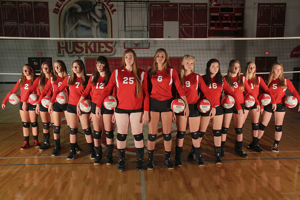 Benzie Central High School Benzie volleyball Benzie Central volleyball Benzie Central huskies Benzie Central Lady Huskies Benzie Central varsity volleyball Lindsay Smith Olivia Chiumino Lauren Church Manon Lutzke Madi Kunkel Leah Stapleton Hadley O'Connor Sarah Stapleton Ross Jordin Purchase Maile Church McKenzie Bevis 2016