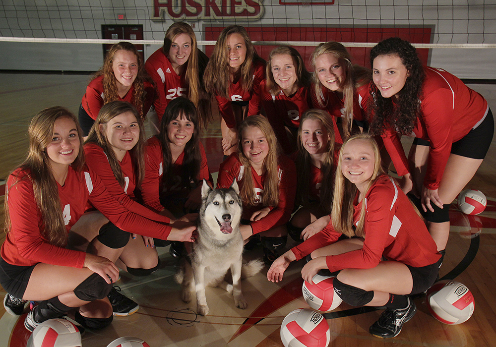 Benzie Central High School Benzie Central Lady Huskies Lindsay Smith Olivia Chiumino Lauren Church Manon Lutzke Madi Kunkel Leah Stapleton Hadley O'Connor Sarah Stapleton Ross Jordin Purchase Maile Church McKenzie Bevis 2016 Benzie Central volleyball Benzie Central varsity volleyball Benzie Central huskiess
