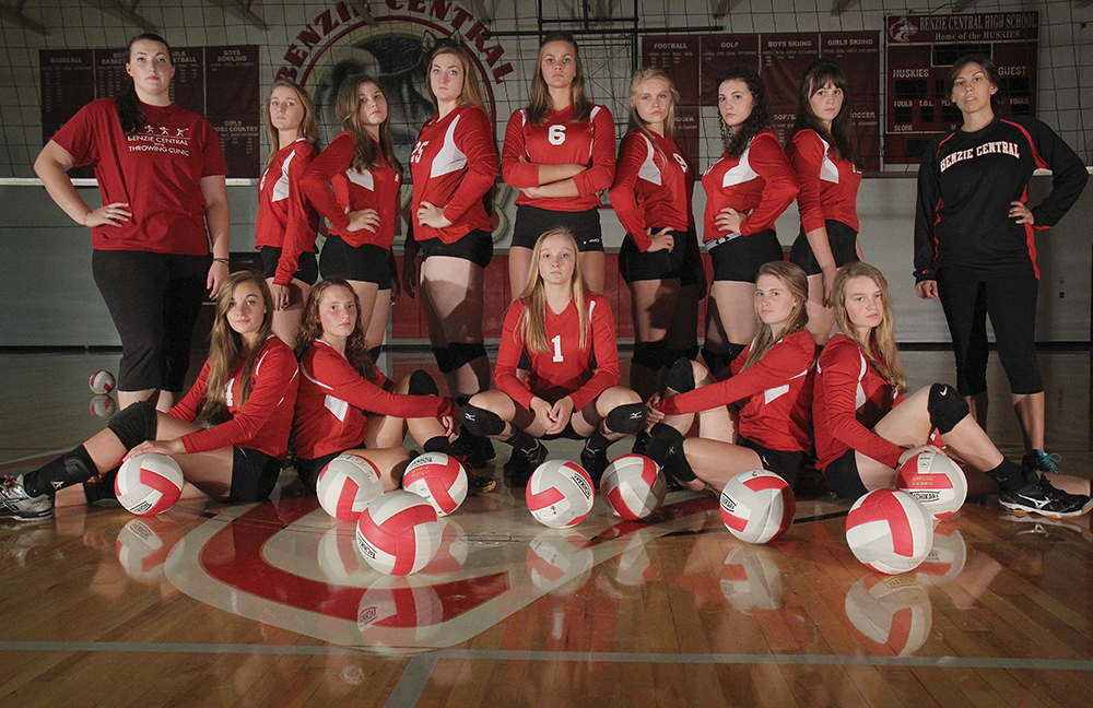 Benzie volleyball Benzie Central High School Benzie Central volleyball coach Randi Lyn Stoltz Randi Stoltz Benzie Central Lady Huskies Madison Lutzke Lindsay Smith Olivia Chiumino Lauren Church Manon Lutzke Madi Kunkel Leah Stapleton Hadley O'Connor Sarah Stapleton Ross Jordin Purchase Maile Church McKenzie Bevis 2016 Benzie Central volleyball Benzie Central varsity volleyball Benzie Central huskies