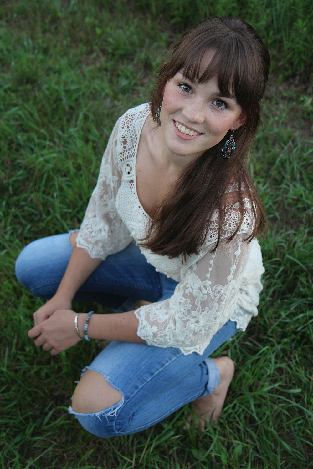 Benzie Central senior portrait senior photo Lauren Church Benzie Central High School aubrey ann parker photography
