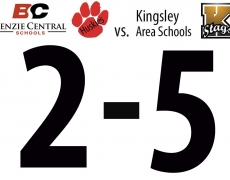 Benzie Girls Soccer: Wednesday, April 19, vs. Kingsley (2-5 Loss)