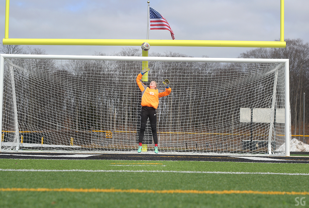 Jenna Cole goalie goalkeeper Jenna Coal Benzie girls soccer Benzie Central girls soccer Benzie Central girls varsity soccer Benzie Central Huskies Benzie Central Lady Huskies