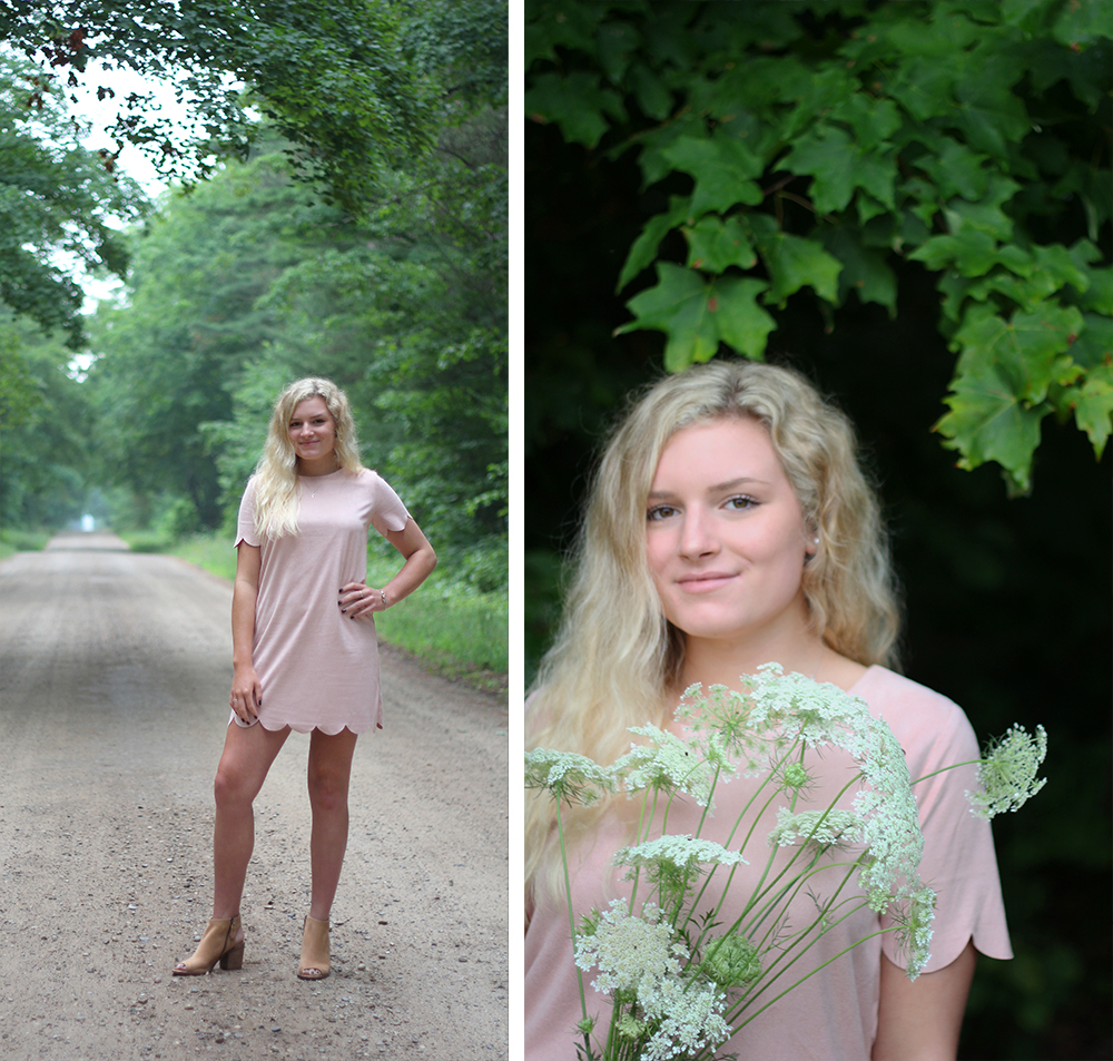 Samantha Jones northern michigan senior photos benzie county senior pictures aubrey ann parker photography backwoods senior picture